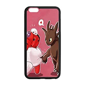 Customize TPU Gel Skin Case Cover for iphone 6+, iphone 6 plus Cover (5.5 inch), Big Hero 6 by mcsharks