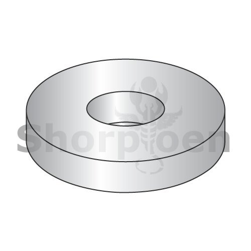 SHORPIOEN Flat Washer 18 8 Stainless Steel #10 x 7/16 BC-AN960C10-50 (Pack of 50) from Shorpioen