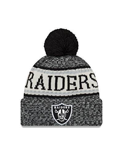 RAMS NFL Raiders Azul pompón Gorro Oakland Tejido con Angeles A Los NEW ERA HA4f46z
