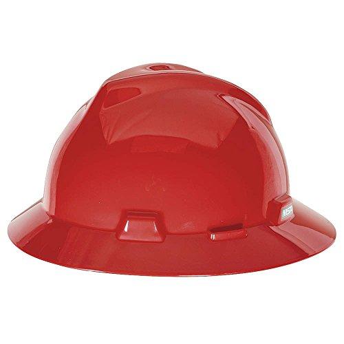 V-Gard Hard Hats  Fas-Trac Ratchet Suspension  Size 6 1/2 -