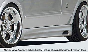 Rieger Potenciador de Aspecto de Carbono Look para Opel Astra G