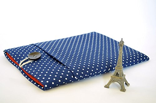 Parisian Laptop Sleeve Case for MacBooks or Custom Sized for Any Laptop Parisian Dot