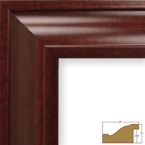 Craig Frames 76039 8 by 10-Inch Picture Frame, - 8 X 10 Photo Frame Cherry
