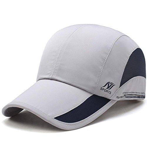 Golf Lightweight Cap (Men's Quick Dry Hats Lightweight Sun Caps for Running/Golf/Baseball)