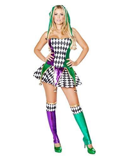Mischievous Jester Adult Costume - Large ()