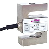 Load Cell, Optima Scale 100 LBS NTEP S-Type Tension & Compression OP-312-0.1K