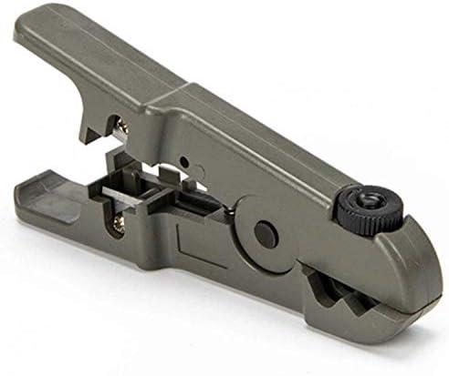 WY-WY 修復ツール、多機能調節可能なブレード同軸ケーブルストリッパー ラジオペンチ
