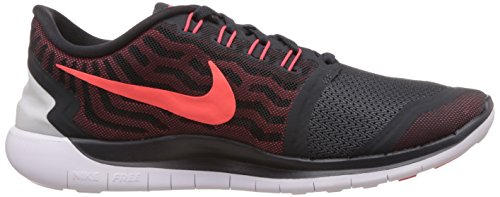 Men's University Bright 0 Free Grey Red Shoes Crimson 5 Anthracite Nike Running wv6qgxt