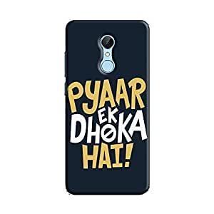 Cover It Up - Love Betrays Redmi 5 Hard Case