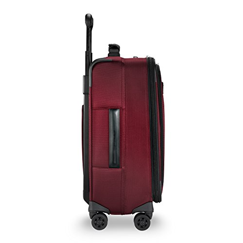 Briggs & Riley Transcend Wide Carry-on Expandable Spinner, Merlot by Briggs & Riley (Image #6)