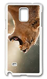 Adorable angry female lion Hard Case Protective Shell Cell Phone For Case Iphone 6 4.7inch Cover - PC White