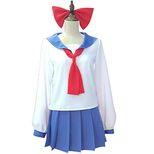 Mocona POP and PIPI Uniform Full Set Sailor Dress Outfit Cosplay Costume ()