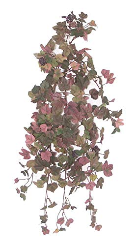 - Darice RC-345 Grape Ivy Bush, 24 inches Artificial Greenery, Assorted