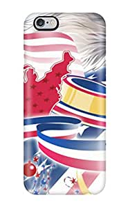 Shock-dirt Proof American Eagle Flag Case Cover For Iphone 6 Plus