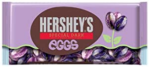 Hershey's Easter Special Dark Mildly Sweet Chocolate Eggs, 10-Ounce Bags (Pack of 4)