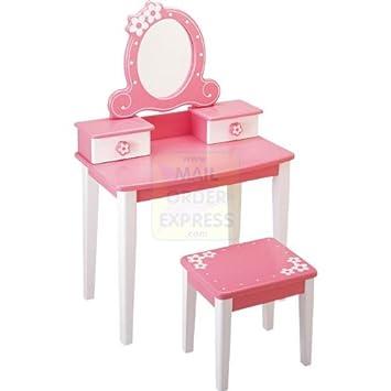 Jouet coiffeuse pour petite fille trendy chambre enfant - Coiffeuse petite fille en bois ...