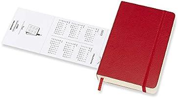 Moleskine - Agenda Diaria de 12 Meses 2020, Tapa Blanda y ...