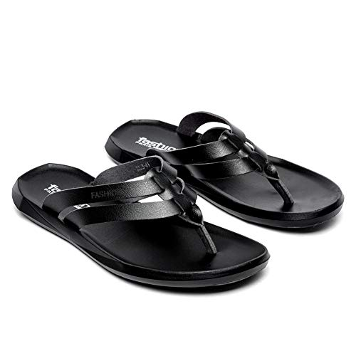 Pictures of BINSHUN Men Thong Sandals Flip Flops Lightweight 2
