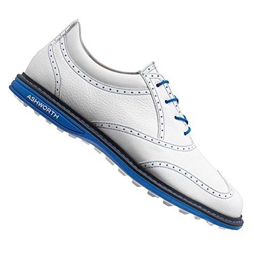 Ashworth Mens Encinitas Wing Tip Golf Shoes -