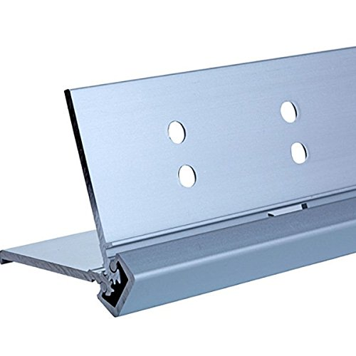 Full Mortise with Lip Continuous Geared door hinges 24 Series Full Mortise Type in Aluminum Finish, Durable door hardware, shower hardware & door hinges by Rockwell
