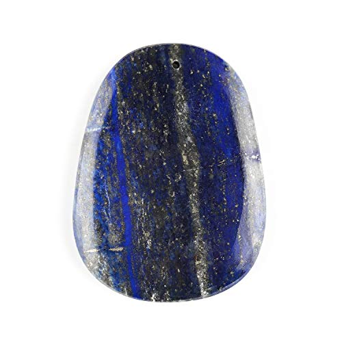 Jaguar Gems – 165 Carats Natural Lapis Lazuli Palm Stone Gemstone Crystals Drilled Cabochon, DIY Making Jewelry, Lapis Lazuli Gemstone Crystals