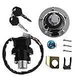 2008 gsxr 1000 gas cap - Motorcycle Ignition Switch Key Gas Fuel Cap Tank Cover Kit Seat Lock Key Set For Suzuki GSXR600 750 1000 SV1000 SV650 GSX1250FA