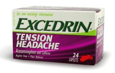 Excedrin Tension Headache Acetaminophen and Caffeine Pain Re