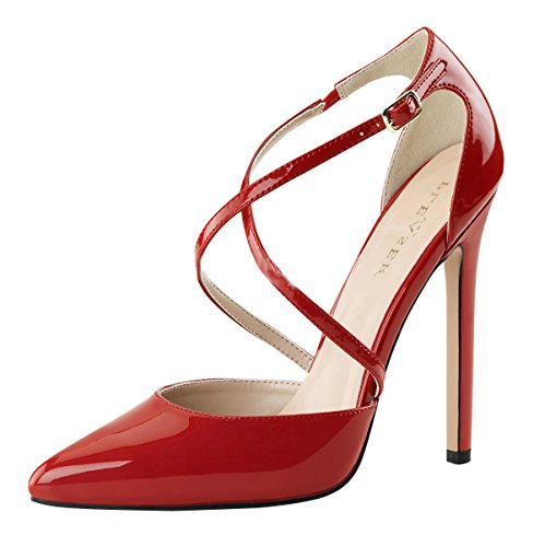 High Heels Pumps Damen Rot (rot)