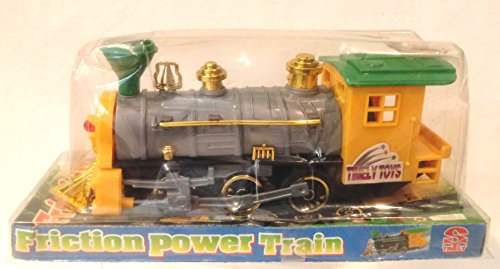 - Friction Power Train, Plastic Timely Train Toy, Plastic Train Engine 7