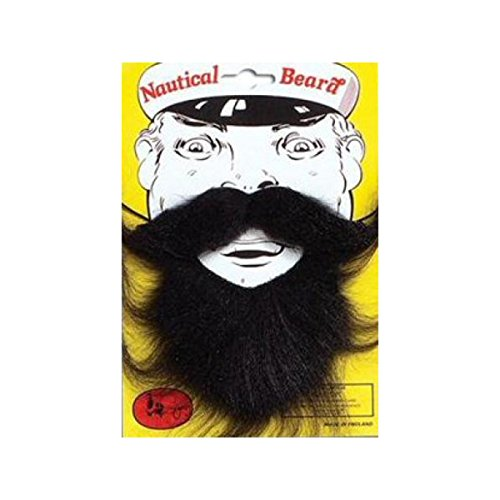 [Nautical Black Beard] (Nautical Beard)