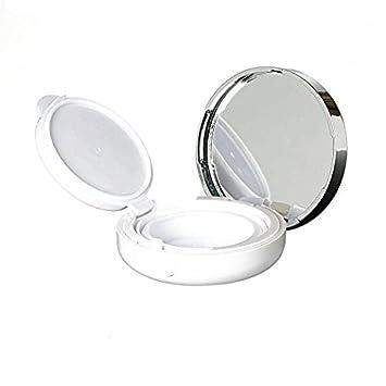02645e919d68 Onwon 15g 0.5oz Empty Luxurious White Silver Edge Portable Air Cushion Puff  Box BB Cream...