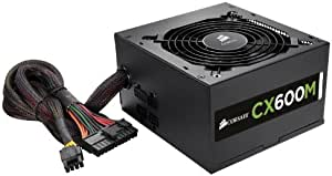 Corsair CX Series 600 Watt 80 Plus Bronze Certified Modular Power Supply (CP-9020060-NA)