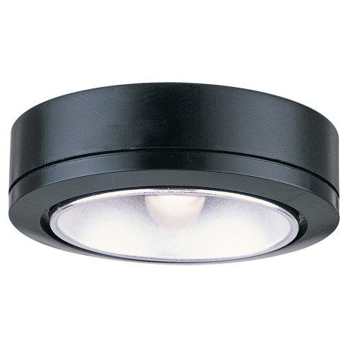 Sea Gull Lighting 9858-12 Ambiance LX Task Disk Light, Black - 1 Light Xenon Task Lighting