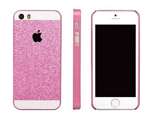 Monkey Cases® iPhone 5 / 5s / SE - Premium PINK Glitzer Edition - Handyhülle - Original - Neu - Exklusiv - Back Cover - Business - rosa