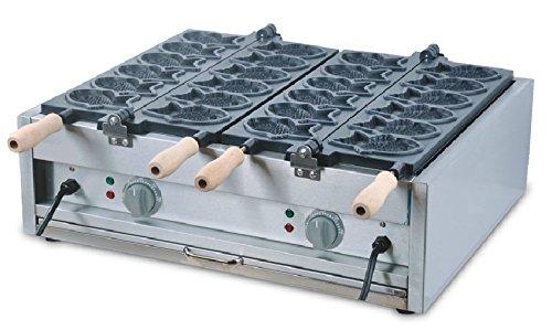 110V/220V Electric Japanese Fish Taiyaki Baker Cooker Maker Iron Machine by Hanchen Instrument®