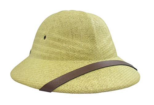 Nicky Bigs Novelties Deluxe Pith Helmet Safari
