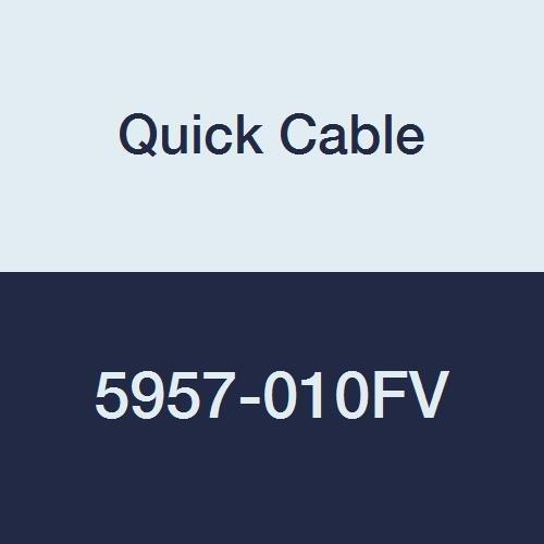 Rápido Cable 5957–010–FV 3/8 Stud Max 45° Lug, estaño chapado en cobre, 3/0calibre de, se puede o soldadas...