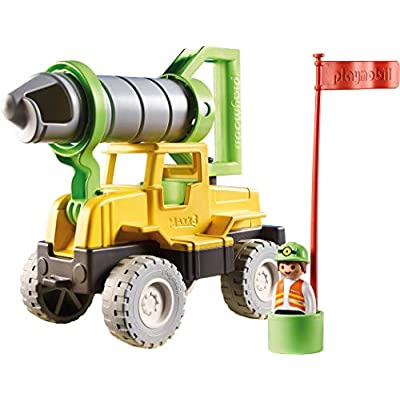 PLAYMOBIL Sand Drilling Rig Beach Toy: Toys & Games