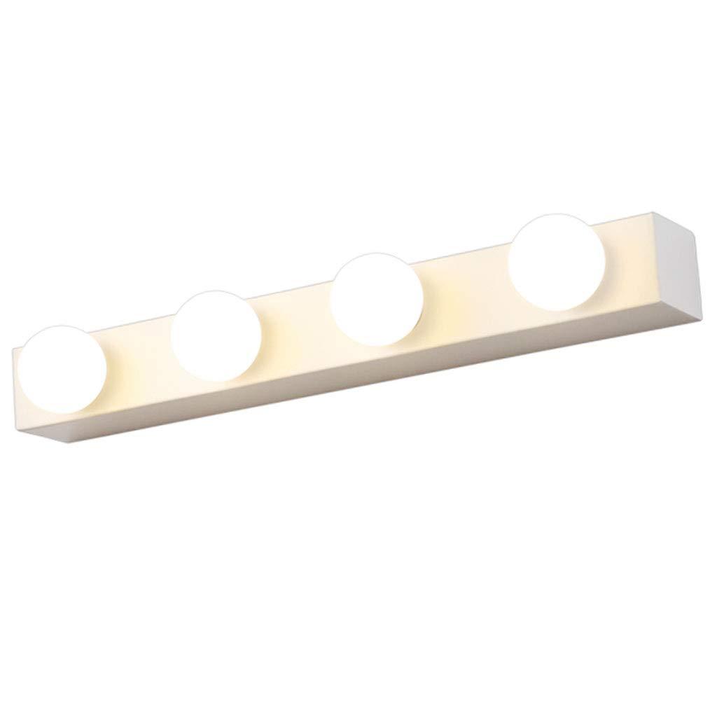 badezimmerlampe Spiegel Frontleuchte LED Birne Spiegel Cabinet Light Dressing Licht Spiegel Licht (Farbe   Weiß-50cm 4 heads-3W)