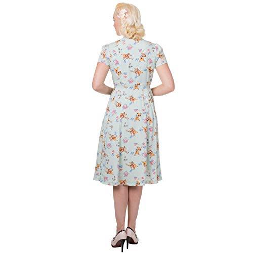 Hirsch }} Dancing Days Sommerkleid Motiv Variationen Retro Whimsical p {Customfields Vintage Roduct Jahre Retro Größe 1950s Grün ttpwqra