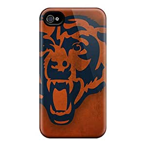 Shock-Absorbing Cell-phone Hard Covers For Iphone 6 With Customized Realistic Chicago Bears Image KerryParsons