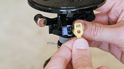 Rain Bird AG-5 All Gallonage Pop-Up Impact Sprinkler, Adjustable 0° - 360° Pattern, 24' - 45' Spray Distance