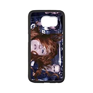 Jennifer Rostock Samsung Galaxy S6 Cell Phone Case Black yyfabd-287077