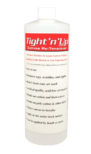 Canvas Spray - Masterpiece Artist Canvas Tight-n-Up Canvas Retensioner Refill, 32-Ounce