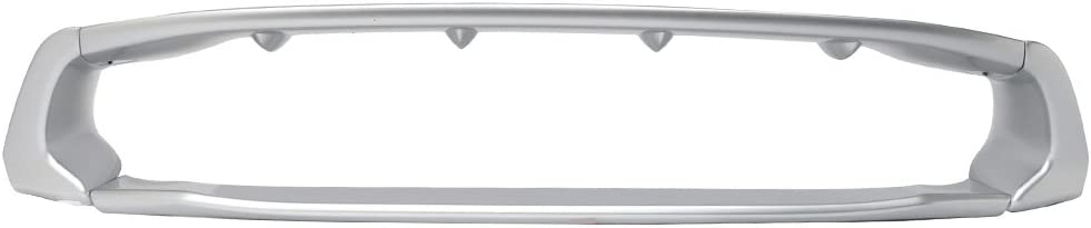2007 2008 2009 2010 2011 2012 2013 2014 Roof Spoiler Compatible With 2006-2015 Honda Civic IKON Style Painted #NH700M Alabaster Silver PP Rear Spoiler Wind Wing IKONMOTORSPORTS