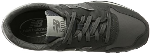 Uomo Gm500 New Balance Grigio Grey Sneaker Dark wOWSqURf