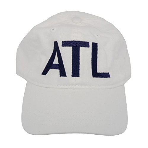 ATL Atlanta Classic Airport Code Hat White