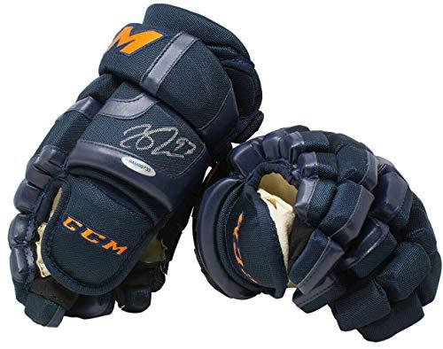 Connor Mcdavid Autographed Signed Memorabilia Ccm Hockey Glove Edmonton Oilers Uda - Certified ()