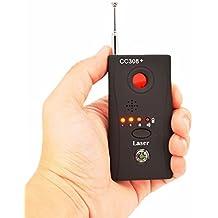 SUNDERPOWER 56645344532 Anti-Spy Hidden Camera Laser RF Signal Bug Detector Device