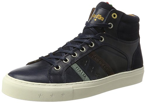 Blues Pantofola Sneaker 29y Mid Monza Blu Collo Uomo a Dress Alto d'Oro UqUvrnw7